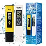 TDS Meter Digital Water Tester, TDS, pH Messgerät, Temperature and EC...
